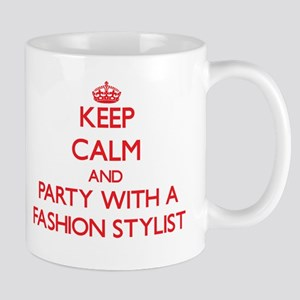 Keep Calm and Party With a Fashion Stylist Mugs