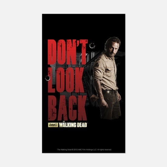 Rick Don't Look Back Sticker (Rectangle)