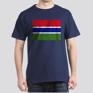Flag of Gambia Dark T-Shirt