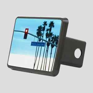 Pacific Coast Highway Sign Rectangular Hitch Cover