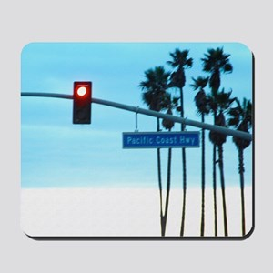 Pacific Coast Highway Sign California Be Mousepad