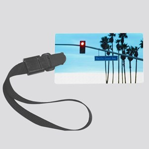 Pacific Coast Highway Sign Calif Large Luggage Tag