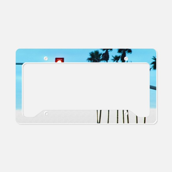 Pacific Coast Highway Sign Ca License Plate Holder