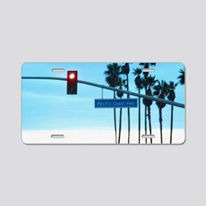 Pacific Coast Highway Sign  Aluminum License Plate