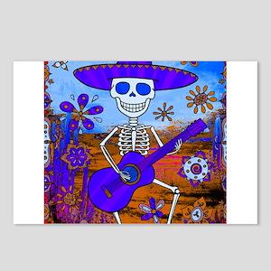 Best Seller Sugar Skull Postcards (Package of 8)