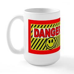 Dangerously Happy Large Mug