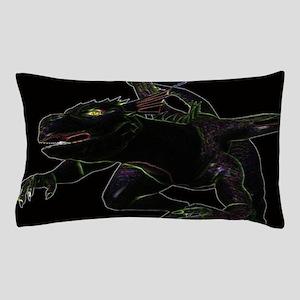 Dragon, Glowing Edges Pillow Case
