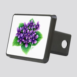 Violets Hitch Cover