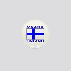 Vaasa, Finland Mini Button