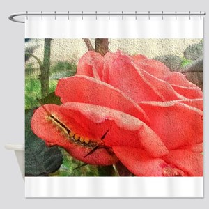 Life on roses Shower Curtain