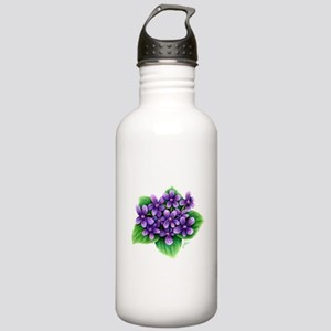 Violets Water Bottle