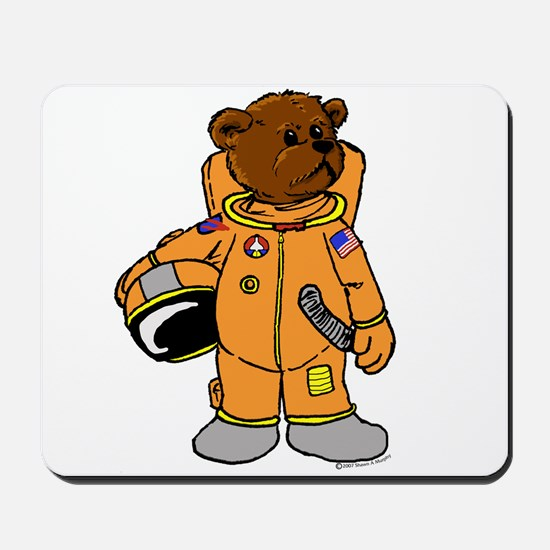 Buzz the Astronaut Bear Mousepad