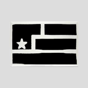 Resistance Flag Rectangle Magnet
