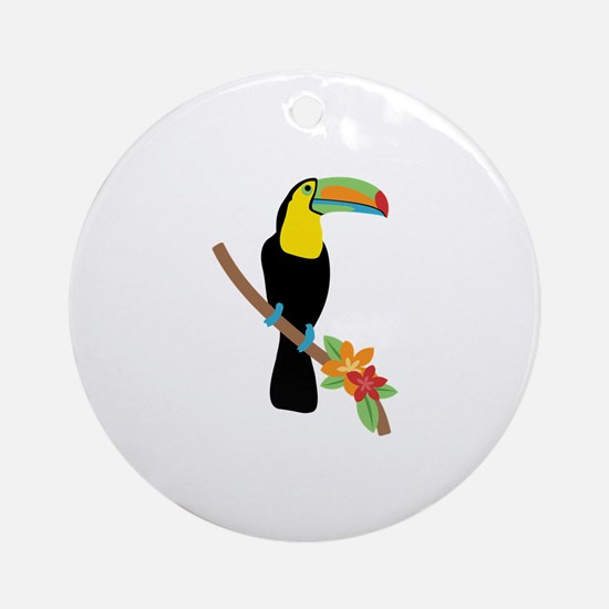 Toucan Bird Ornament (Round)