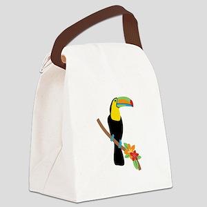 Toucan Bird Canvas Lunch Bag