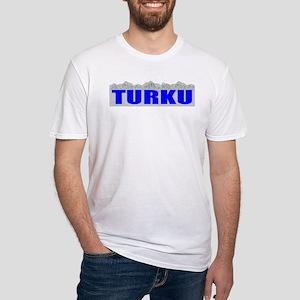 Turku, Finland Fitted T-Shirt