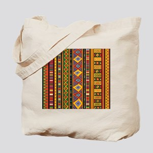 Ethnic Colorful Pattern Africa Art Tote Bag