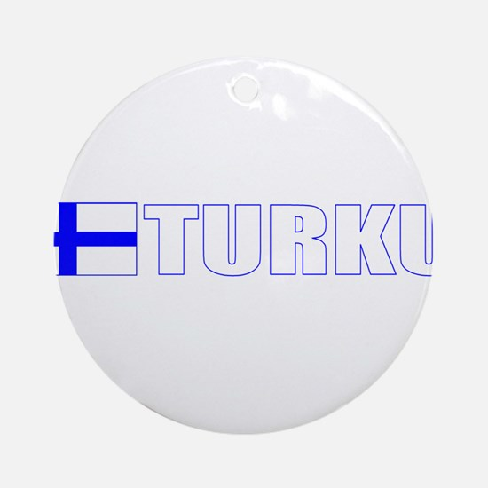 Turku, Finland Ornament (Round)