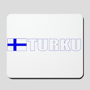Turku, Finland Mousepad