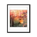 Sodom and Gomorrah Framed Panel Print