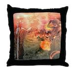 Sodom and Gomorrah Throw Pillow