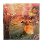 Sodom and Gomorrah Tile Coaster