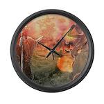 Sodom and Gomorrah Large Wall Clock