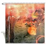 Sodom and Gomorrah Shower Curtain