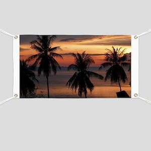 Wonderful Sunset Banner