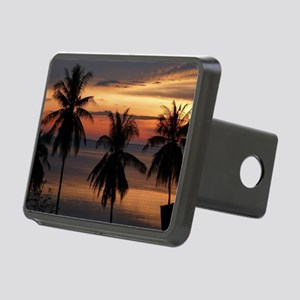 Wonderful Sunset Rectangular Hitch Cover
