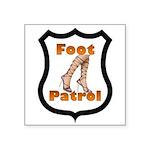 Foot Patrol Badge Square Sticker 3
