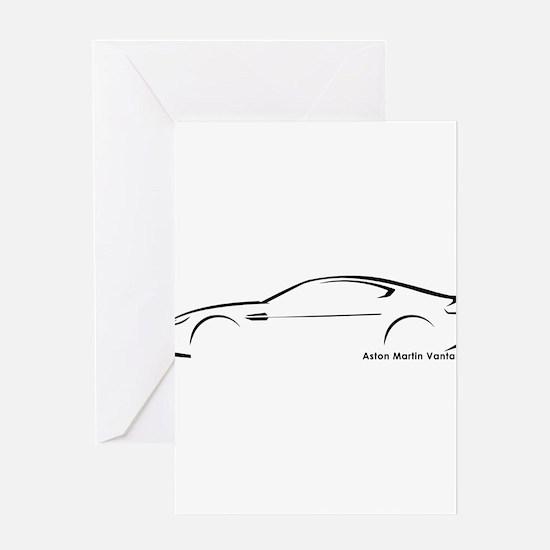 Aston Martin Vantage Greeting Cards