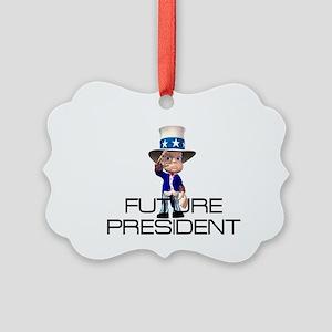 Future President Picture Ornament
