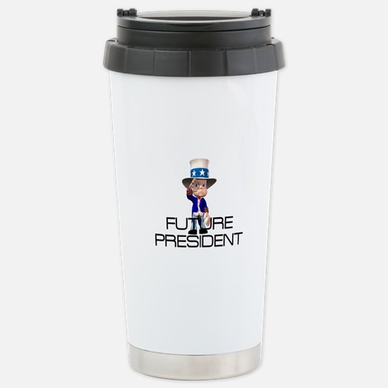 Future President Stainless Steel Travel Mug