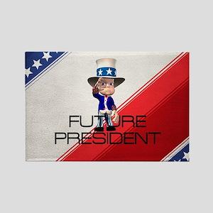 Future President Rectangle Magnet