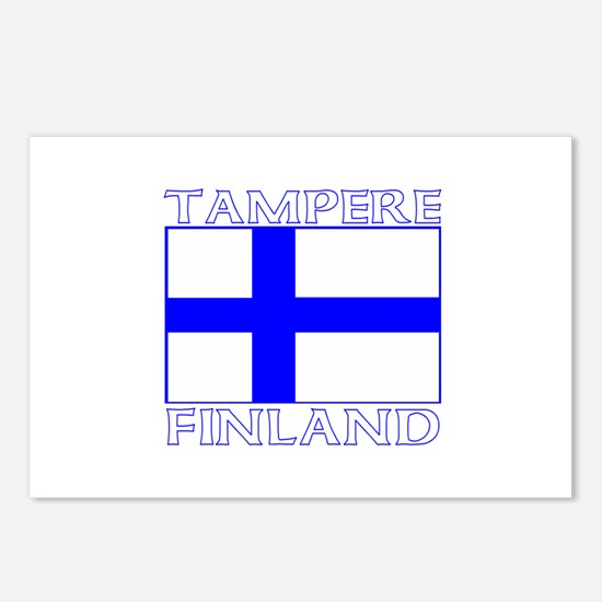 Tampere, Finland Postcards (Package of 8)