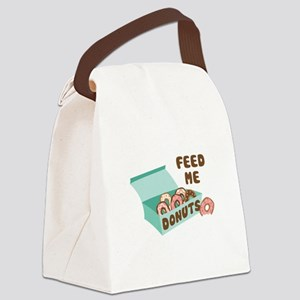 Feed Me Donuts Canvas Lunch Bag