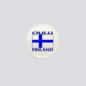 Oulu, Finland Mini Button