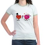 Romantic Heart Giving Flowers T-Shirt