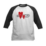 Baby Pin with Hearts Baseball Jersey