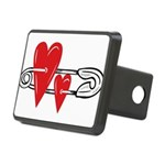Baby Pin with Hearts Hitch Cover