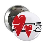 Baby Pin with Hearts 2.25