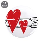 Baby Pin with Hearts 3.5