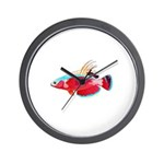 Spot-lined flasher wrasse Wall Clock