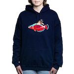 Spot-lined flasher wrasse C Hooded Sweatshirt