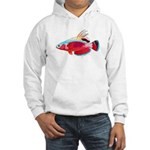 Spot-lined flasher wrasse C Hoodie
