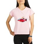 Spot-lined flasher wrasse C Performance Dry T-Shir