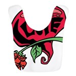 Love Heart with Rose Bib