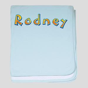 Rodney Giraffe baby blanket