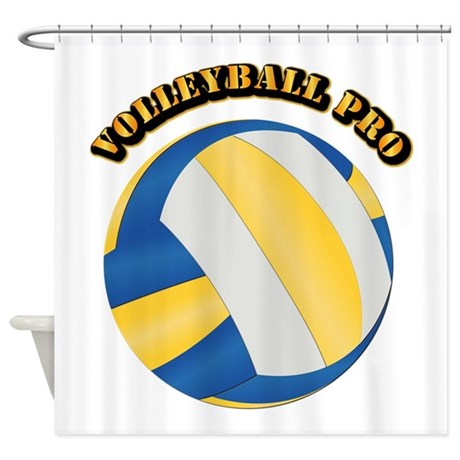Volleyball Pro Shower Curtain